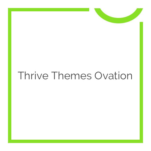 Thrive Themes Ovation 2.0.6