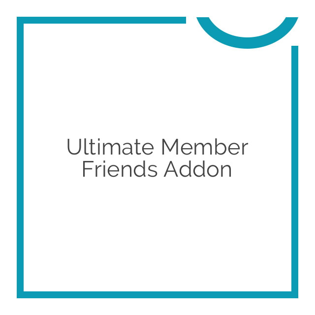 Ultimate Member Friends Addon 2.0.0