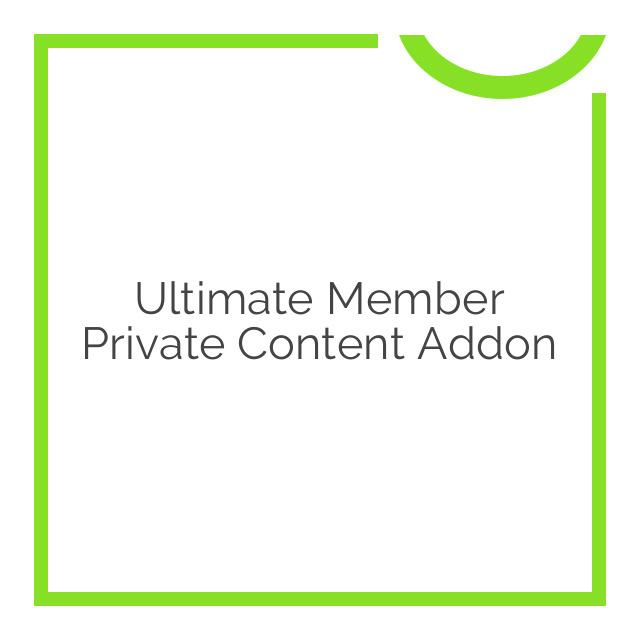 Ultimate Member Private Content Addon 2.0.0