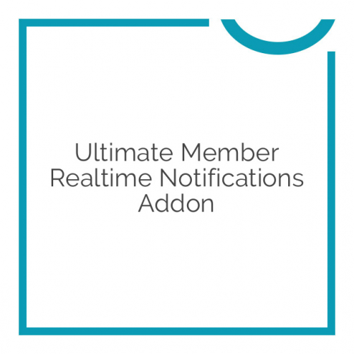 Ultimate Member Realtime Notifications Addon 2.0.0