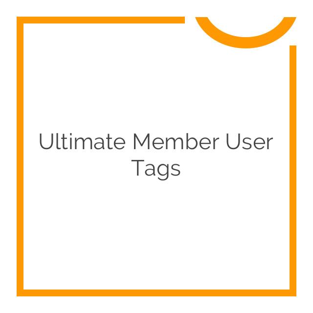 Ultimate Member User Tags 2.0.0