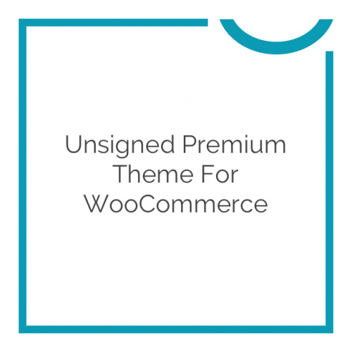 Unsigned Premium Theme for WooCommerce 1.3.2
