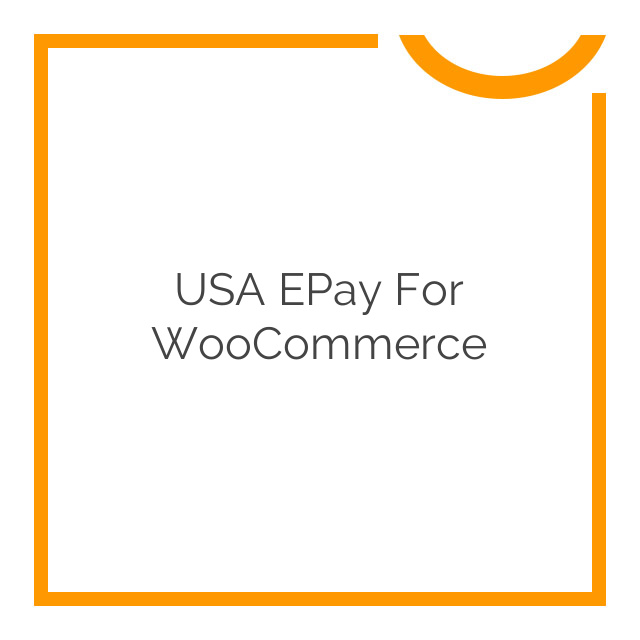 USA ePay for WooCommerce 1.8.0