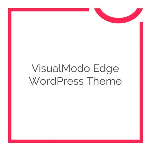 VisualModo Edge WordPress Theme 9.2.2