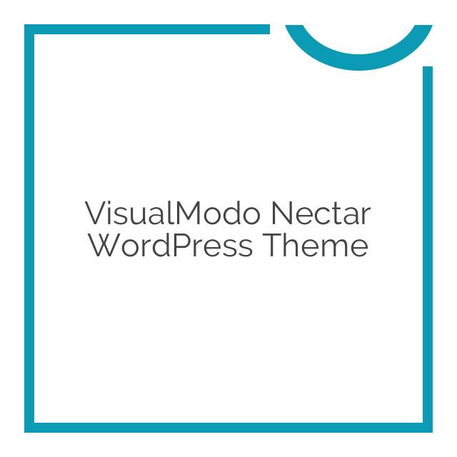 VisualModo Nectar WordPress Theme 1.0.2