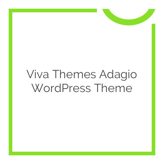 Viva Themes Adagio WordPress Theme 1.0.0