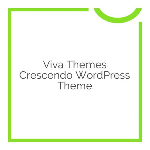 Viva Themes Crescendo WordPress Theme 1.0.0