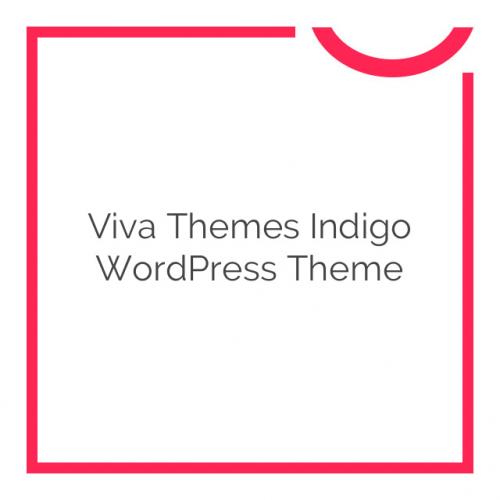 Viva Themes Indigo WordPress Theme 1.1.0