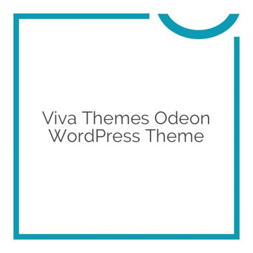 Viva Themes Odeon WordPress Theme 1.1.0