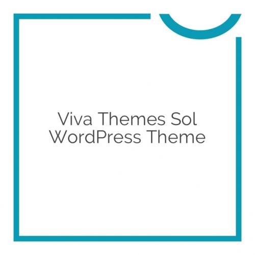 Viva Themes Sol WordPress Theme 1.1.0
