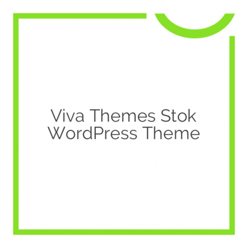 Viva Themes Stok WordPress Theme 1.0.0