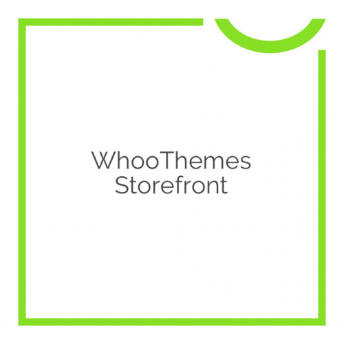 WhooThemes Storefront 2.2.4