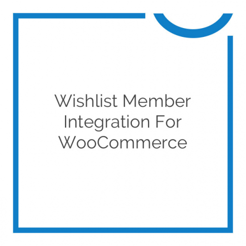 Wishlist Member Integration for WooCommerce 2.5.2