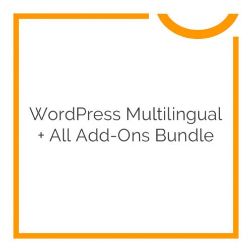 WordPress Multilingual + All Add-Ons Bundle 2017