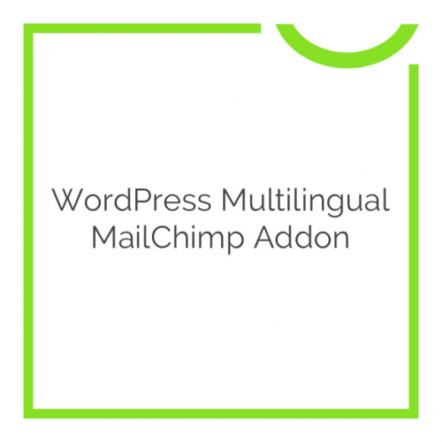 WordPress Multilingual MailChimp Addon 0.0.1