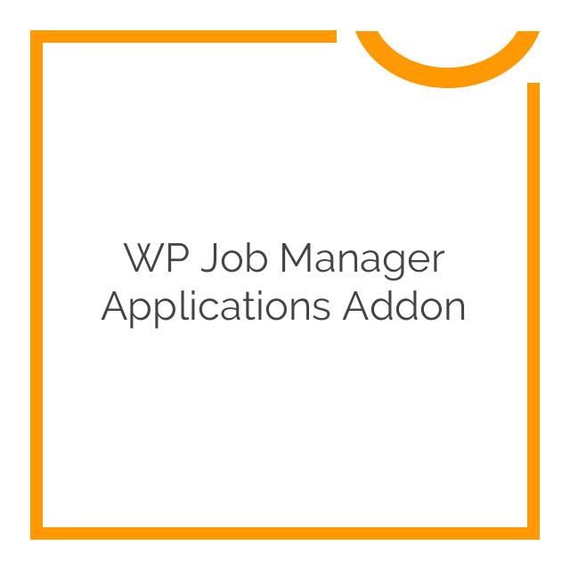 WP Job Manager Applications Addon 2.3.0