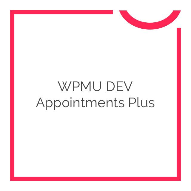 WPMU DEV Appointments Plus 2.2.3