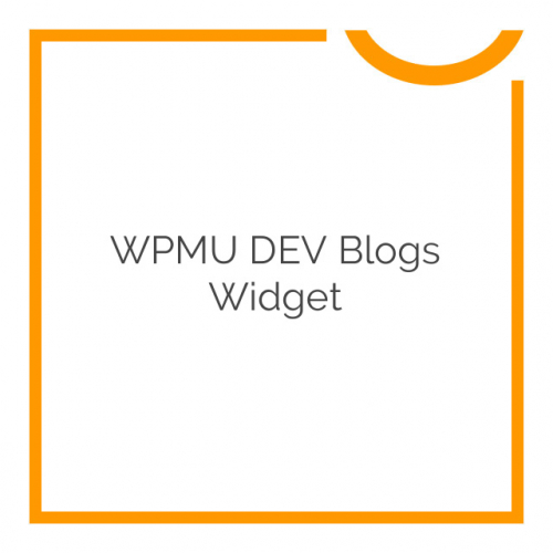 WPMU DEV Blogs Widget 1.0.9.4