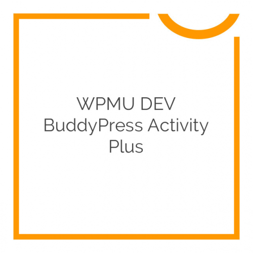 WPMU DEV BuddyPress Activity Plus 1.6.5