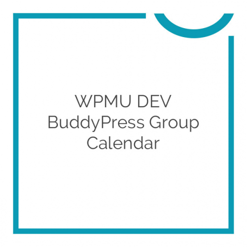WPMU DEV BuddyPress Group Calendar 1.4.9