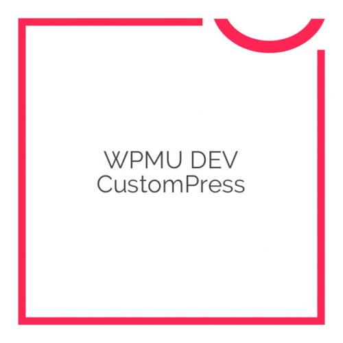 WPMU DEV CustomPress 1.3.7