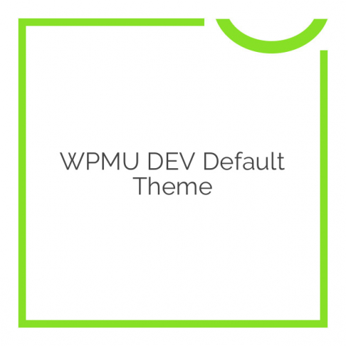 WPMU DEV Default Theme 1.0.4