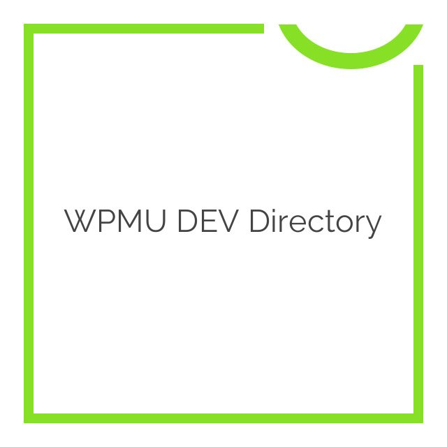 WPMU DEV Directory 2.2.6.5