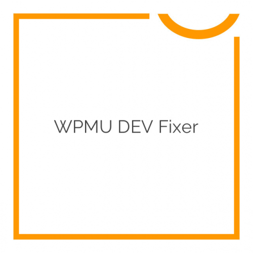 WPMU DEV Fixer 1.4.1