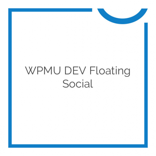 WPMU DEV Floating Social 1.7.5