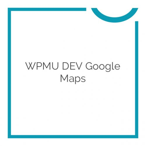 WPMU DEV Google Maps 2.9.4
