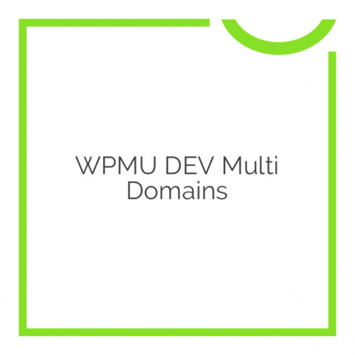 WPMU DEV Multi Domains 1.3.4.5