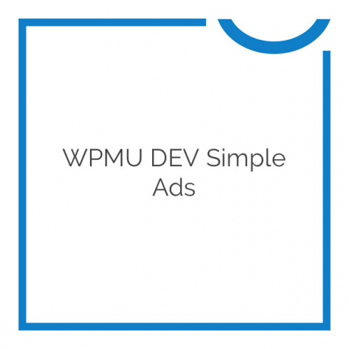 WPMU DEV Simple Ads 1.0.6