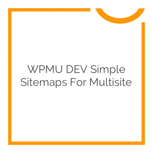 WPMU DEV Simple Sitemaps For Multisite 1.1.0