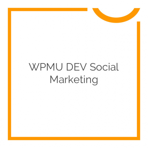 WPMU DEV Social Marketing 1.2.4