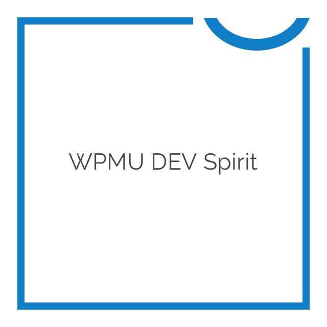 WPMU DEV Spirit 1.4.1