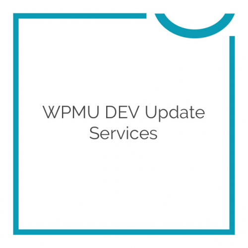 WPMU DEV Update Services 1.0.2.1