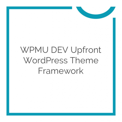 WPMU DEV Upfront WordPress Theme Framework 1.9.4