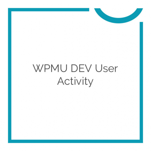 WPMU DEV User Activity 1.1