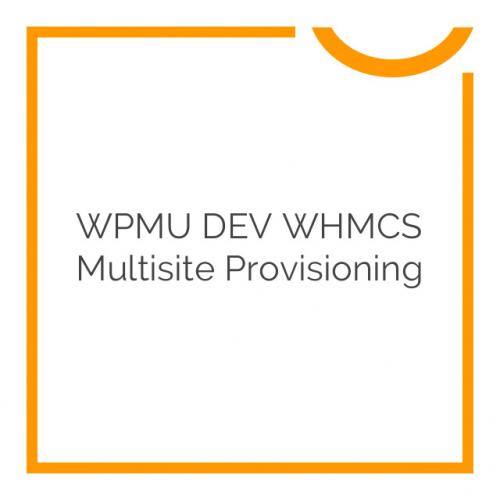 WPMU DEV WHMCS Multisite Provisioning 1.1.0.8