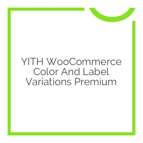 YITH WooCommerce Color And Label Variations Premium 1.5.0