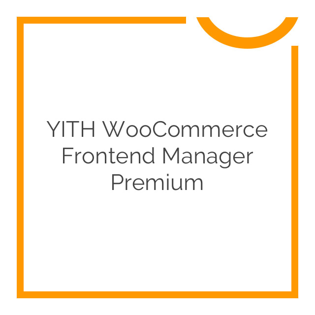 YITH WooCommerce Frontend Manager Premium 1.3.1