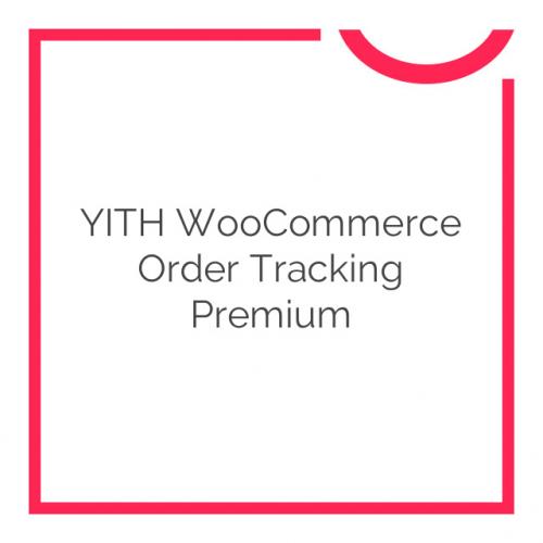 YITH WooCommerce Order Tracking Premium 1.3.27