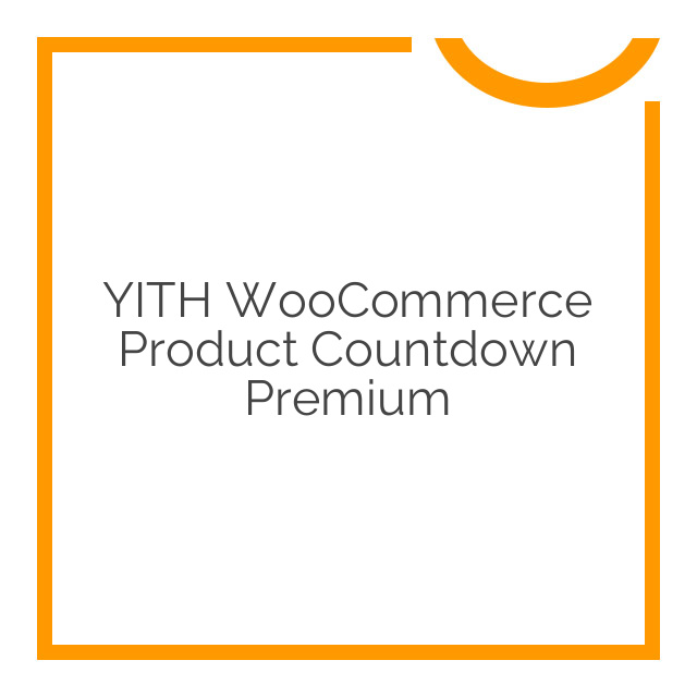 YITH WooCommerce Product Countdown Premium 1.2.4