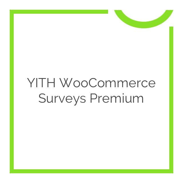 YITH WooCommerce Surveys Premium 1.0.8