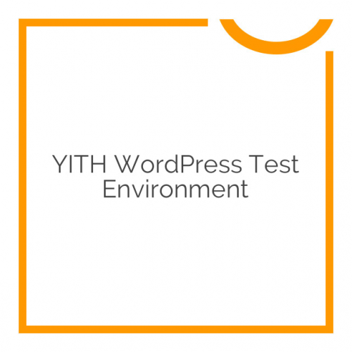 YITH WordPress Test Environment 1.0.0