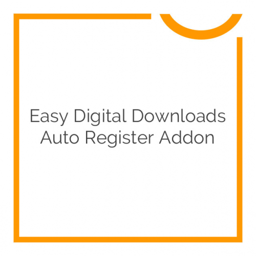 Easy Digital Downloads Auto Register Addon 1.3.9