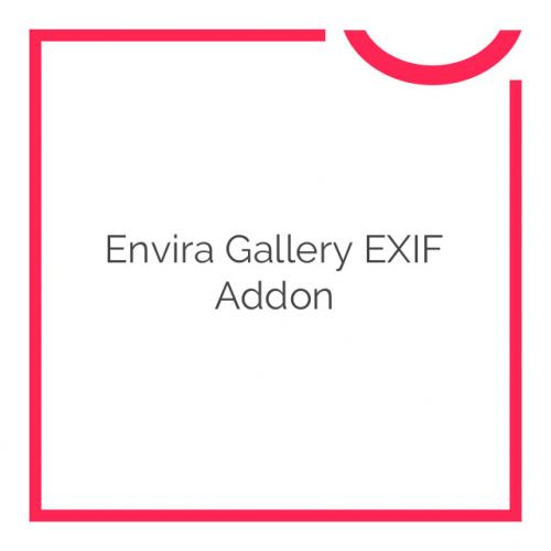 Envira Gallery EXIF Addon 1.2.0