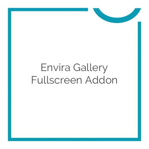 Envira Gallery Fullscreen Addon 1.1.0