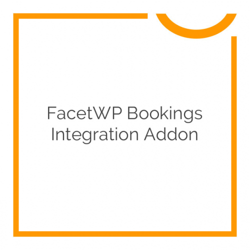 FacetWP Bookings Integration Addon 0.5.2