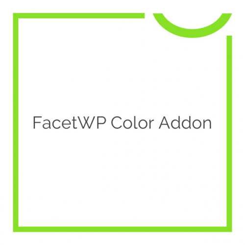 FacetWP Color Addon 1.3.1